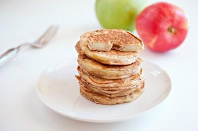 Рецепт Яблочные кольца-блины