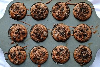 Рецепт Шоколадные пирожные с печеньем Орео