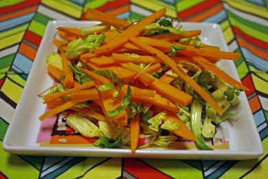 Рецепт Картофельно-морковный салат