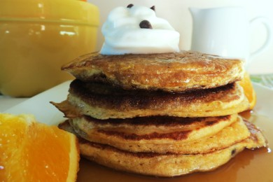 Рецепт Апельсиново - шоколадные блинчики