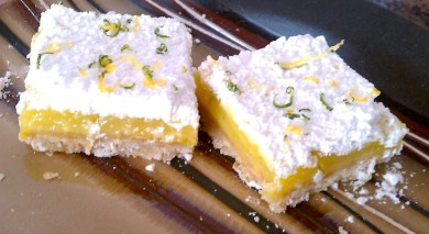 Рецепт Лимонно-лаймовый пирог