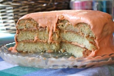 Рецепт Торт мандариновым кремом