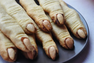 Рецепт Печенье Пальцы ведьмы