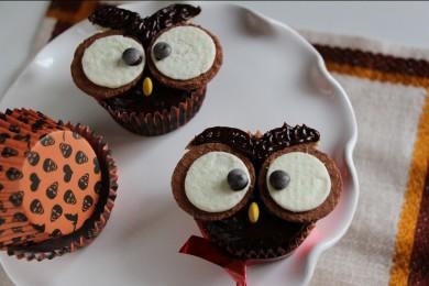 Рецепт Кексы-совы