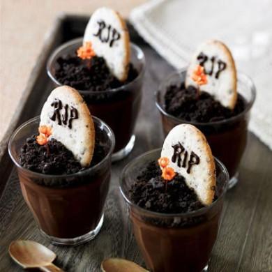 Рецепт Печенье-надгробия в шоколадном креме