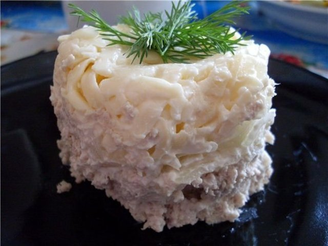 Салат версаль рецепт слоеный