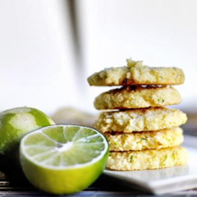 Рецепт Кокосовое печенье с лаймом