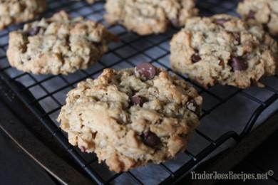 Рецепт Шоколадно-арахисовое овсяное печенье