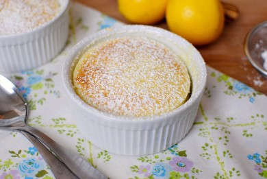 Рецепт Лимонный кекс-пудинг