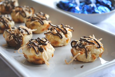 Рецепт Карамельно-кокосовое печенье