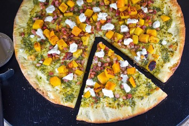 Рецепт Пицца с тыквой
