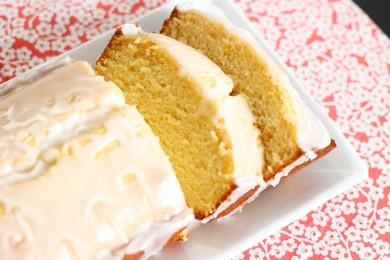 Рецепт Фунтовый лимонный пирог