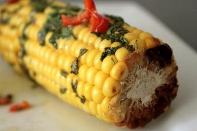 Рецепт Запеченная кукуруза в тайском стиле