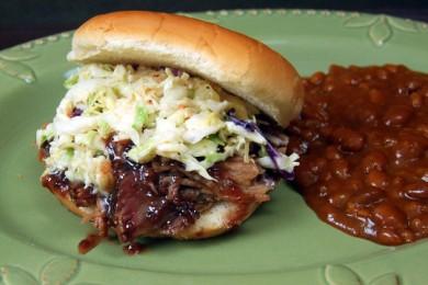 Рецепт Сандвичи со свининой и соусом барбекю