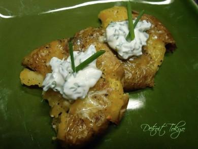 Рецепт Картофель с сыром и сметаной