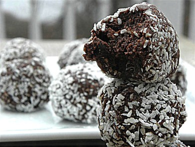 Рецепт Шоколадно-кокосовые шарики