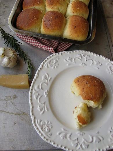 Рецепт Булочки с сыром и розмарином