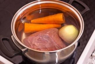 Мясной холодец - приготовление