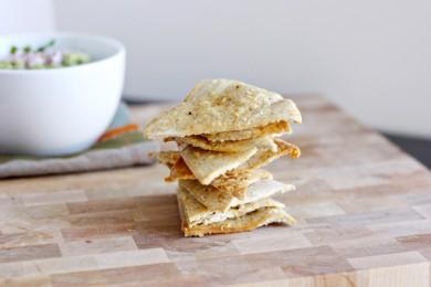 Рецепт Пита-чипсы с пармезаном