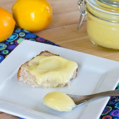 Рецепт Лимонный творог