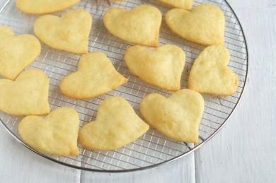 Рецепт Сырное печенье-сердечки