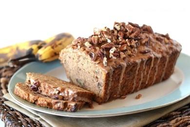 Рецепт Банановый хлеб с корицей и пеканами