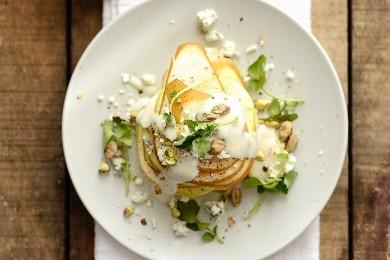 Рецепт Фруктовый салат с рокфором