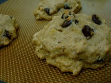 Рецепт Овсяное печенье с бананом и шоколадом