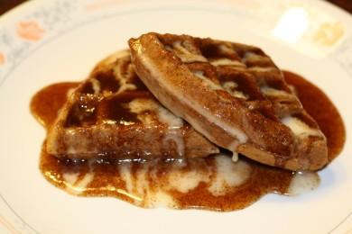 Рецепт Вафли с корицей — рецепт для вафельницы