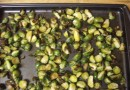 Чесночная паста с брюссельской капустой