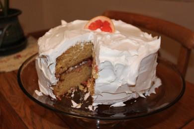 Рецепт Грейпфрутовый торт