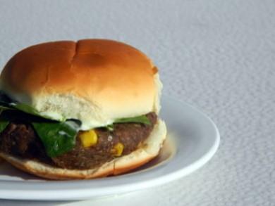 Рецепт Бургеры из черной фасоли