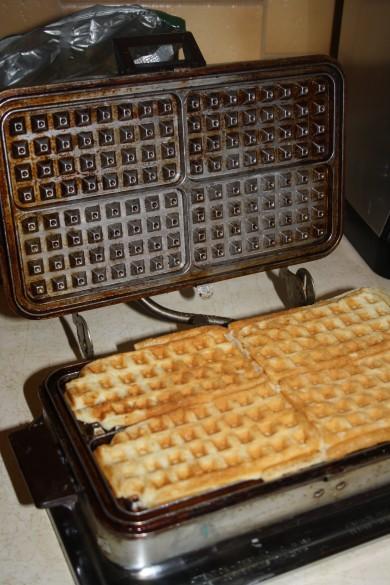 Рецепт Вафли — рецепт для вафельницы