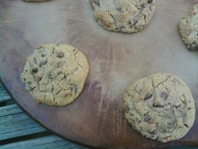 Рецепт Печенье с пеканом и шоколадными чипсами