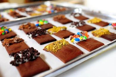 Рецепт Шоколадное печенье с глазурью