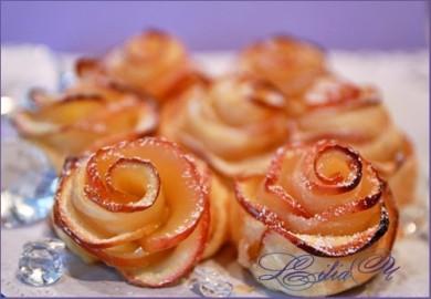 Рецепт Яблочные розы