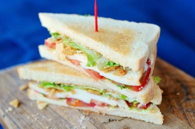Рецепт Вегетарианский сэндвич