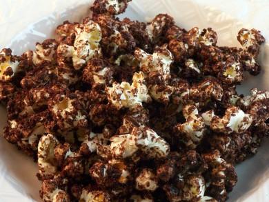 Рецепт Шоколадный попкорн