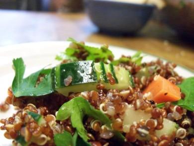 Рецепт Овощной салат с киноа