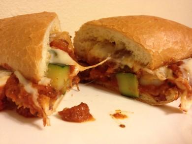 Рецепт Бутерброды с колбасой и овощами