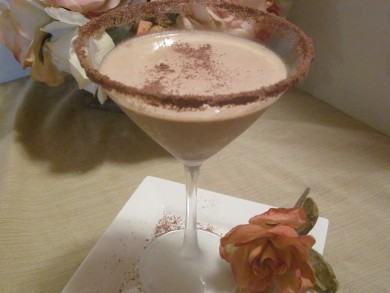 Рецепт Сливочно-шоколадный мартини