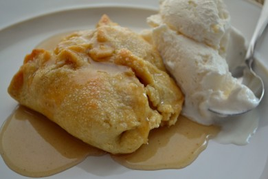 Рецепт Запеченное яблоко в тесте