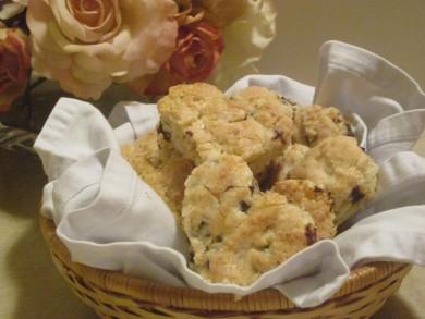 Рецепт Печенье в форме сердца с шоколадом
