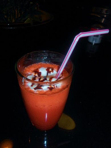 Рецепт Шоколадный напиток Красный бархат