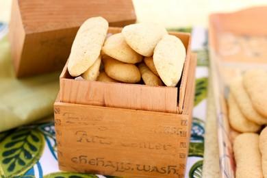 Рецепт Печенье Дамские пальчики