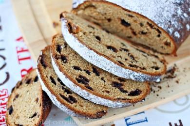 Рецепт Хлеб с манго и шоколадом