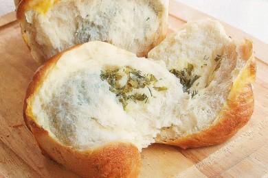 Рецепт Хлеб с сыром и зеленью