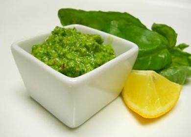 Рецепт Песто из базилика с лимоном