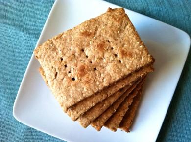Рецепт Овсяные крекеры с медом