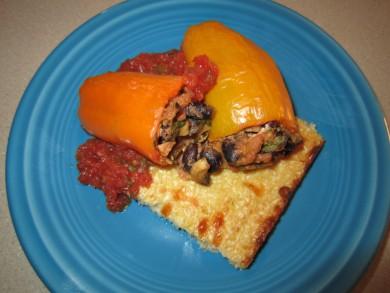 Рецепт Фаршированные болгарские перцы
